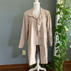 London Fog Trench Coat~Size PL